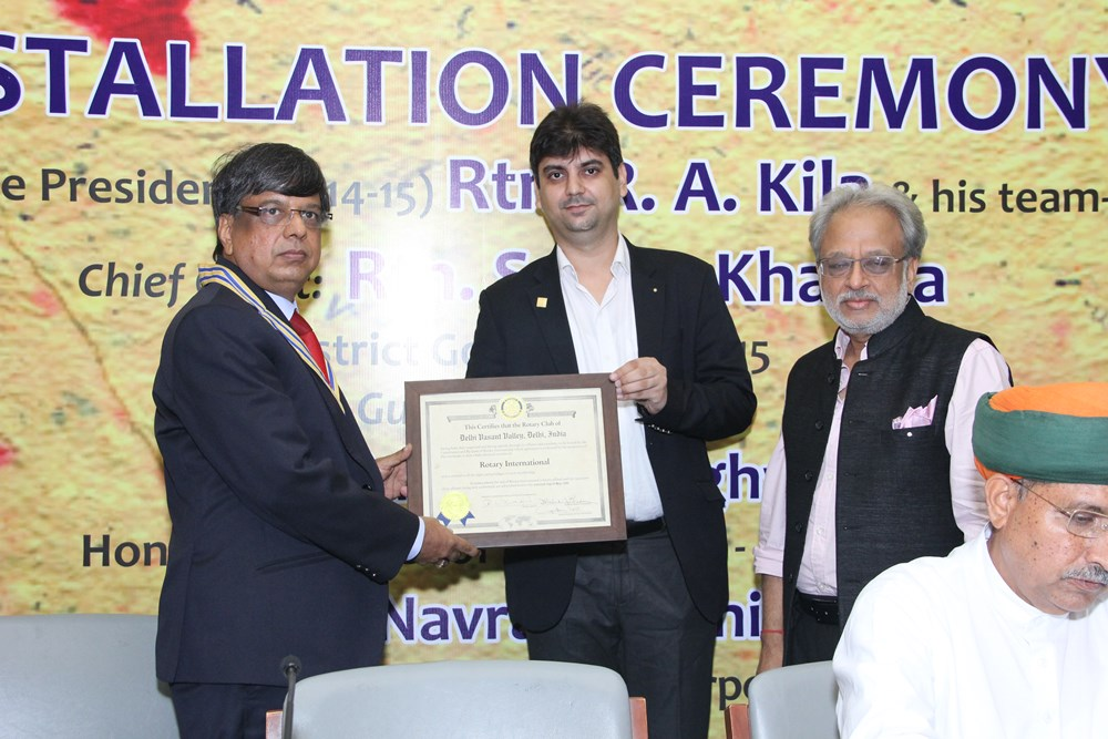 Rotary Club President Installation Ceremony 2014 (10)